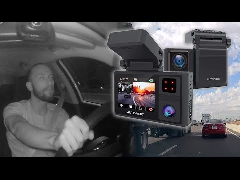UNBOXING | AUTO VOX Aurora Dual Dash Cam (Front And Inside With Night Vision)