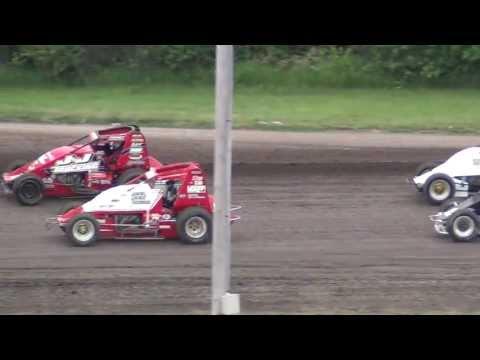 Gas City Speedway Sprintcar Feature 6-21-13 (CHAD BOESPFLUG)