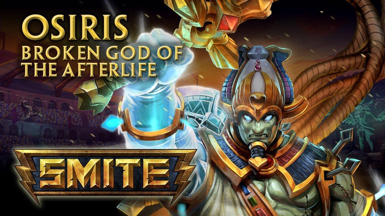SMITE - God Reveal - Osiris, Broken God of the Afterlife ...