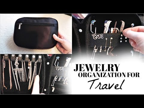 How to Organize Jewelry for Travel | Ashlan Moore