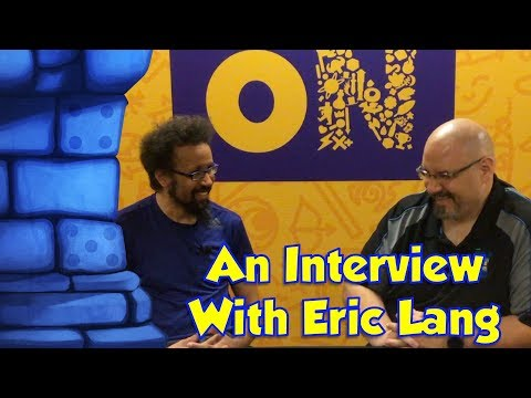 Sam's Interview with Eric Lang at CMON Expo 2018