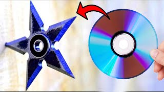 How To Make a Ninja Throwing Star (Shuriken)
