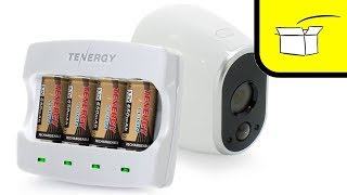 Tenergy Rechargeable Batteries for ARLO HD Cameras