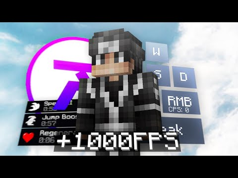 Best Minecraft PVP FPS Boost Client For Cracked   Ares Client 🔮 (FREE Cosmetics)