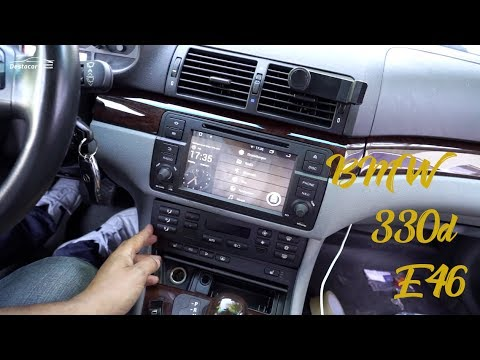 Установил радио на BMW E46