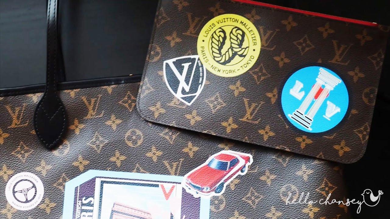 Unboxing Louis Vuitton Neverfull Mm World Tour Monogram Youtube