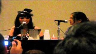 Angry(aka Ishikawa Rika's Q&A at New York Comic Con)part 1.