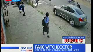 CCTV footage of how the Bamburi witchcraft fiasco was stage managed