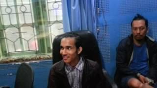 Ram Tamang n chija with the peak studio