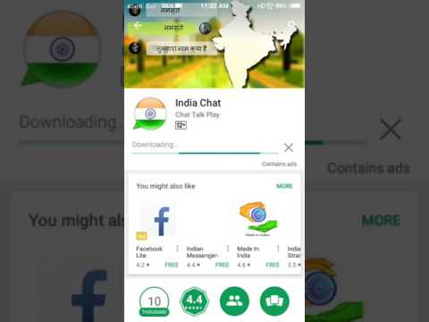 Indian Chat Mobile App!new Messenger App/for Android/indian Chatting App Available In Play Store/