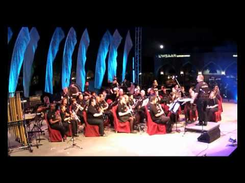 Doha Wind Orchestra - music for a darkened theater