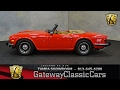 832 TPA - 1976 Triumph TR6 2.5L Inline 6 Cylinder 4 Speed Manual