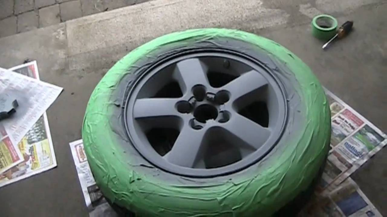 Murdering Out The Jeep Phase 1 Painting My Wheels Black