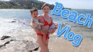 둘째 출산후 첫 비키니 쇼핑!! 호주 해변 브이로그 국…