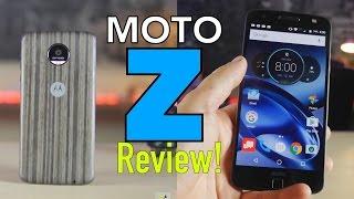 Moto Z Review en Español (ALGO MAS QUE UN TELEFONO)
