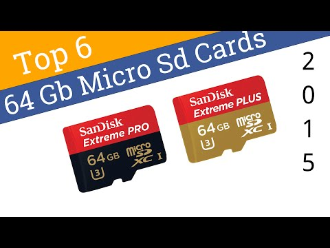 6 Best 64 GB Micro SD Cards 2015