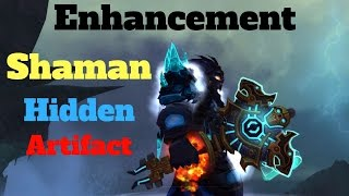 How To Get Enhancement Shaman Hidden Artifact - Zandalar Champion