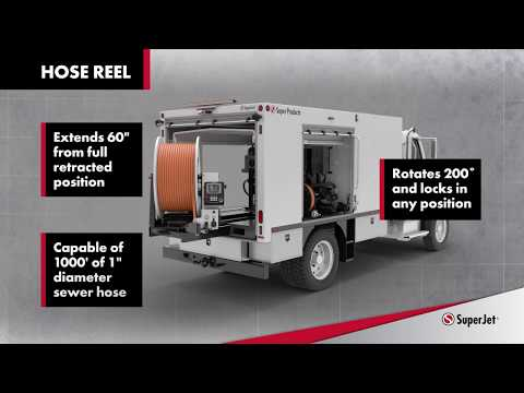 SuperJet Truck Mounted Jetter