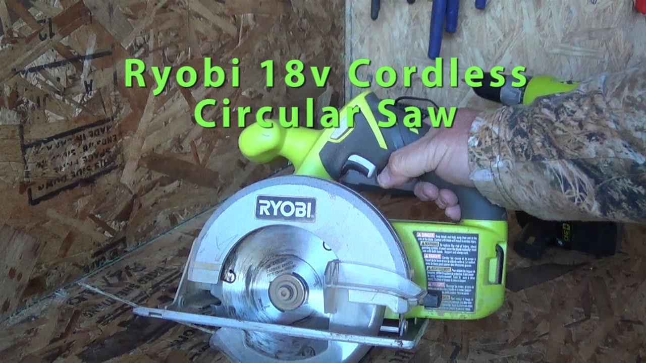 Ryobi 18v cordless circular saw 5 12 blade off grid arizona hot ryobi 18v cordless circular saw 5 12 blade off grid arizona hot homestead youtube keyboard keysfo Image collections