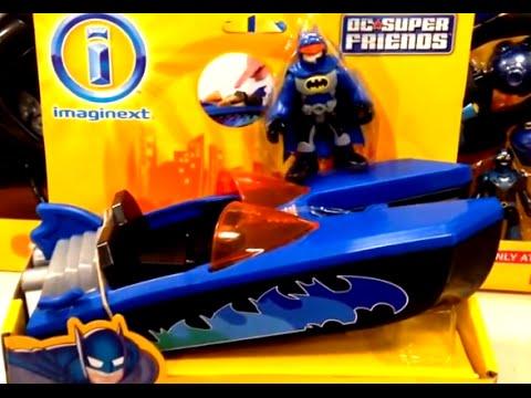 Batman [Imaginext] DC Super Friends Bat Boat [Toy Review]