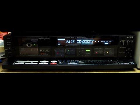 Aiwa AD-F770 cassette deck (1985) (HD remake), Part 2
