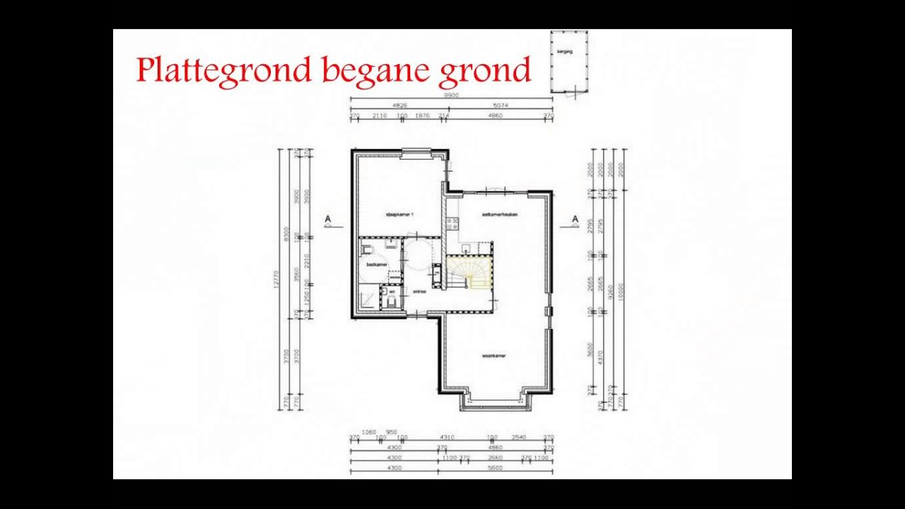 Te koop nog te bouwen semi bungalow youtube for Moderne semi bungalow bouwen