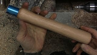 Make A Removable Wood Tool Handle For Woodturning Tools