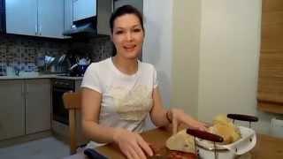 Как выпекается хлеб в печи/ турецкий хлеб