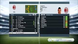 Formazione,modulo e tattica del Milan su Fifa14