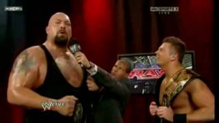Big Show and The Miz After Win Unificated Tag Team Championship