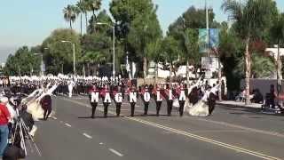 Magnolia HS - National Fencibles - 2014 La Palma Band Review