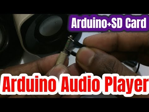 Arduino Audio Player with SD Card Module