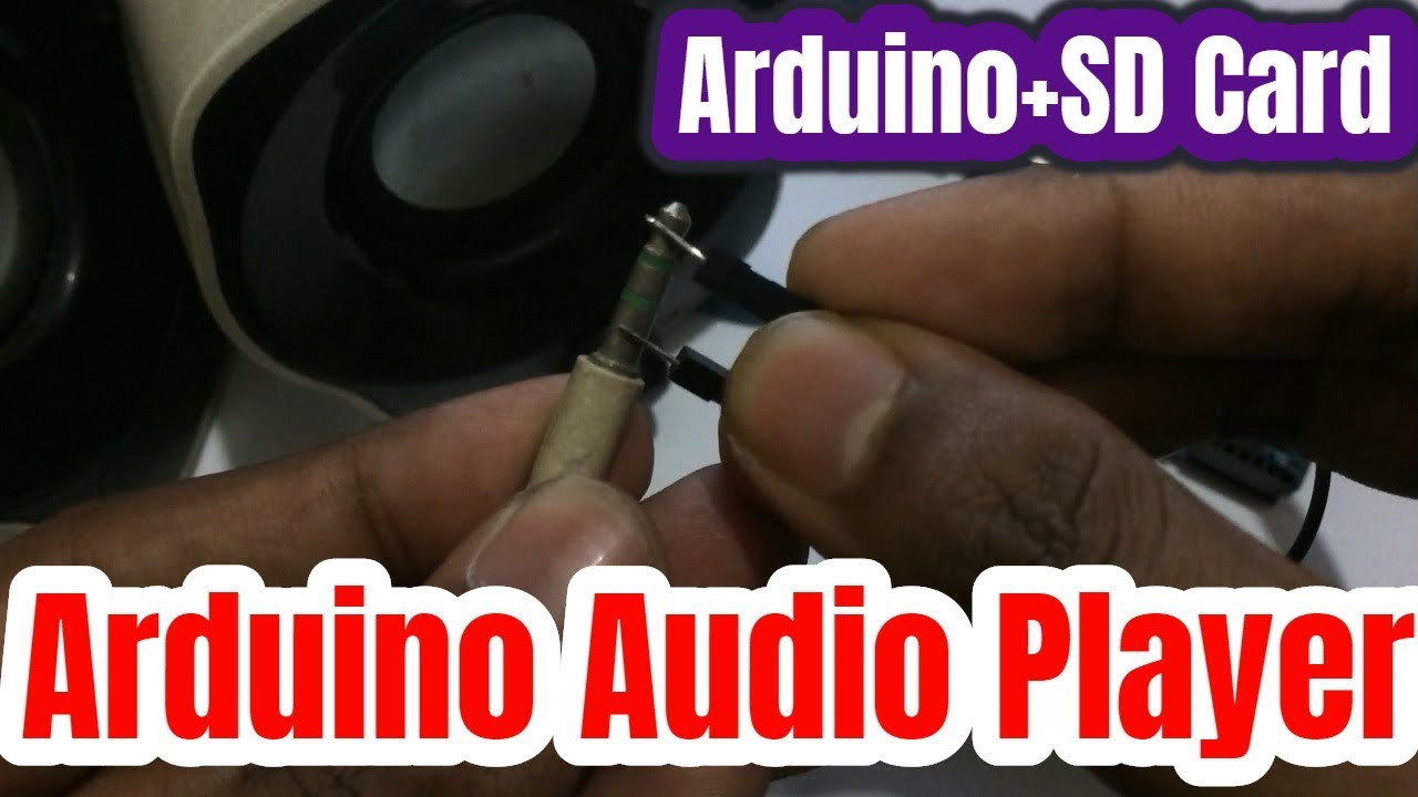 Arduino Audio Player With Sd Card Module Youtube Project Circuit Diagram