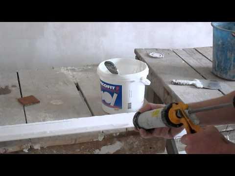 видео: как клеить потолочный плинтус(багет)