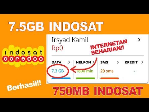 REAL! Cara mendapatkan kuota GRATIS indosat hingga 7.5GB terbaru 2020