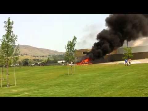 Air plane crash - marshall field vernon
