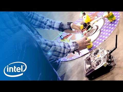 "Flying Robots Battle at ""Game of Drones"" 