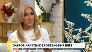 """Livet efter kraschen:""""Har förstått att familjen är viktigast"""" - Nyhetsmorgon (TV4)"""