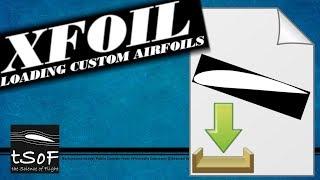 XFOIL Tutorial 3: Laden eines Profils aus einer Datei