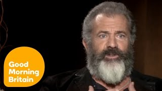 Mel Gibson and Andrew Garfield - Hacksaw Ridge Interview | Good Morning Britain