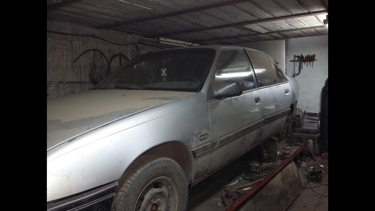 Ремонт автомобиля  Opel Omega A.Кузовной ремонт часть2