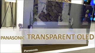 Panasonic transparent OLED-TV - vorgestellt