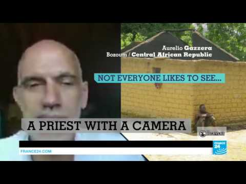 Meet our Observer Aurelio, a priest with a GoPro