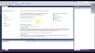 How to run C program in Microsoft Visual Studio 2013