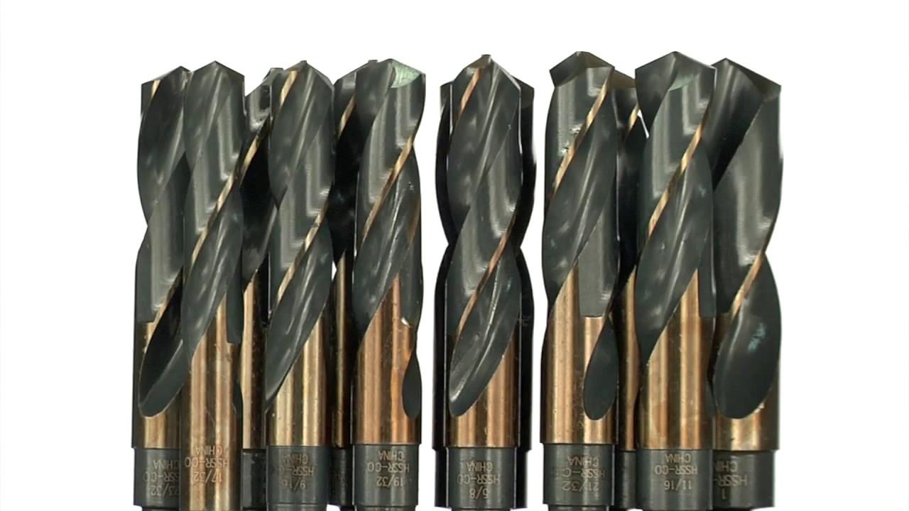 KnKut KK38-5//8 5//8-Inch Fractional 3//8-Inch Reduced Shank Drill