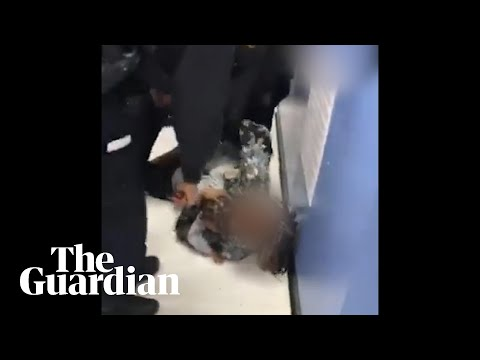 Footage shows NYPD police officer ripping baby from its mother's arms