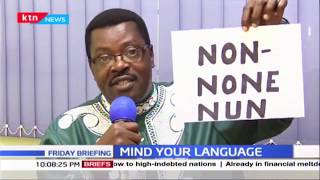 Mind Your Language: 'Non', 'None', 'Nun' Test your grammar with word master Willis