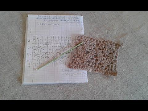 Жакет тюльпаны крючком схемы с описанием