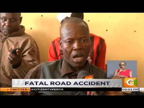 10 people killed, over 70 injured in Kamara on Nakuru-Eldoret road