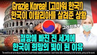 Grazie Korea! (고마워 한국!) 한국이 이탈…
